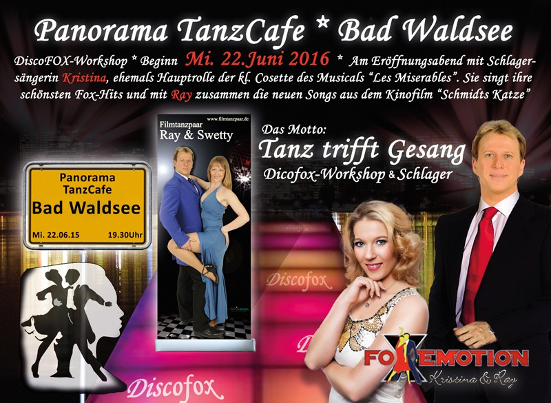 FoxEmotion im Traditionshaus, dem Panorama TanzCafe